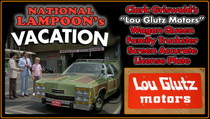"License Plate - National Lampoon's VACATION - ""Lou Glutz Motors"""