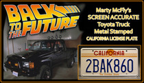 License Plate - BACK to the FUTURE - 2BAK860
