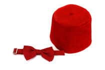 11th Doctor Bow Tie and Fez Kit