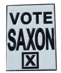 Vote Saxon Pin