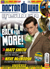 Doctor Who Insider Magazine Issue #6