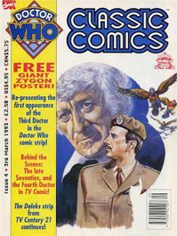 Doctor Who Classic Comics #4