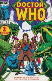 Doctor Who Marvel Comics #1