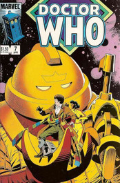 Doctor Who Marvel Comics #7