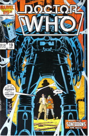 Doctor Who Marvel Comics #19