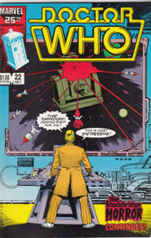 Doctor Who Marvel Comics #22