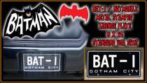 """License Plate - BATMAN - """"BAT-I"""""""