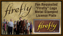 "License Plate - FIREFLY - ""FIREFLY"""
