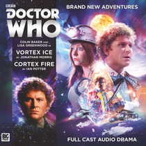 Vortex Ice/Cortex Fire Audio CD - Big Finish #225