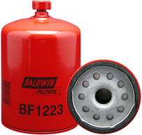 Baldwin BF1223 Fuel/Water Separator Spin-on with Drain