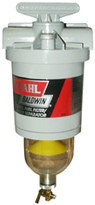 Baldwin 150-W30 Diesel Fuel Filter/Water Separator with 30 micron filter