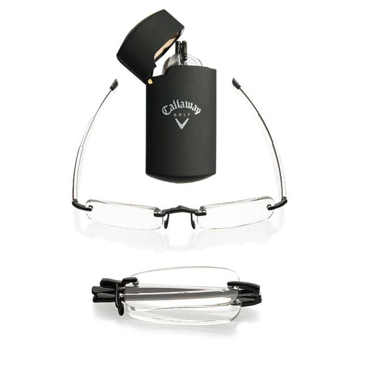 callaway compact reader glasses with fliptop