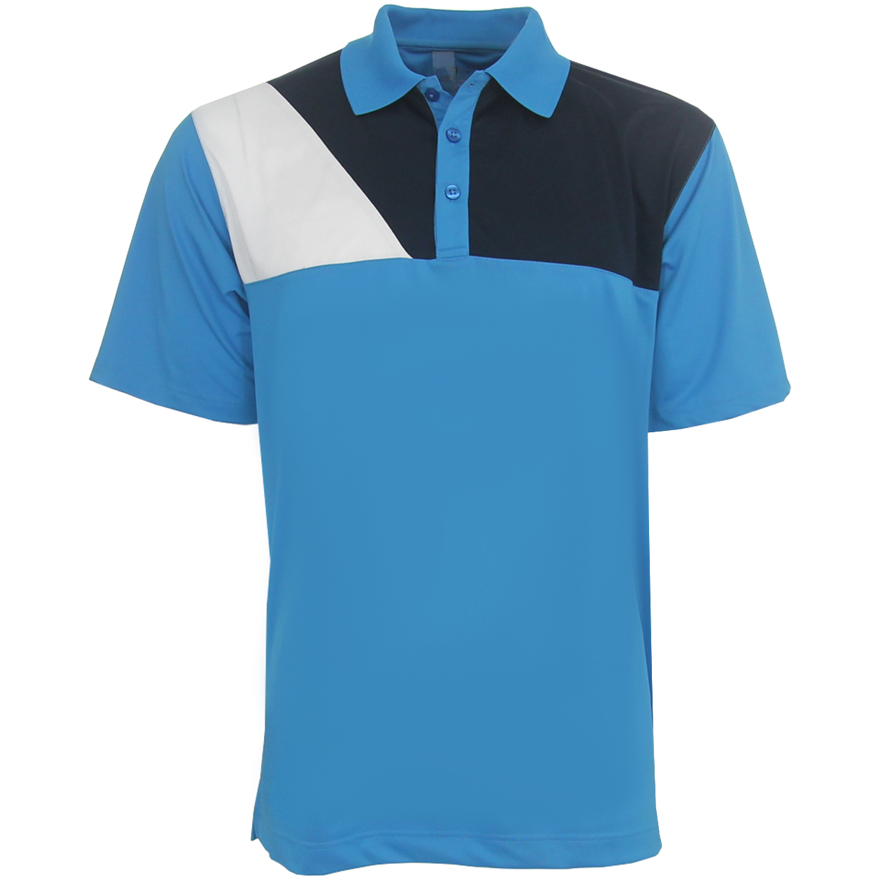 Page Tuttle Cool Swing 3 Panel Polo Golf Shirt