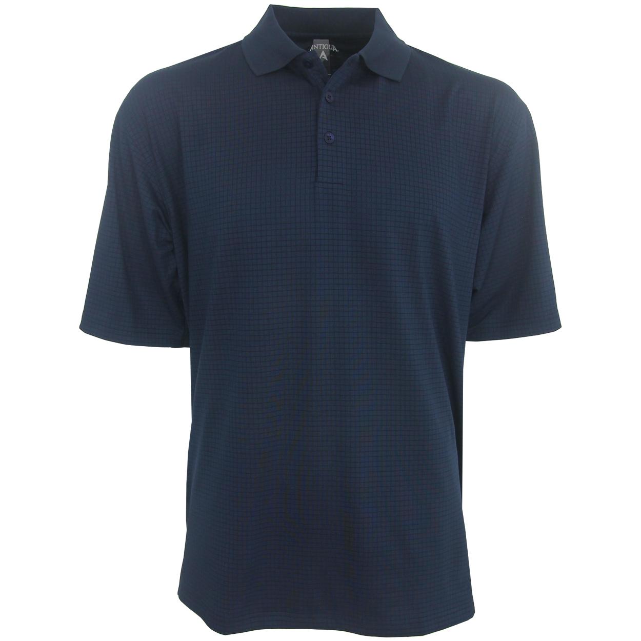Antigua phoenix performance polo golf shirt for Polo golf performance shirt