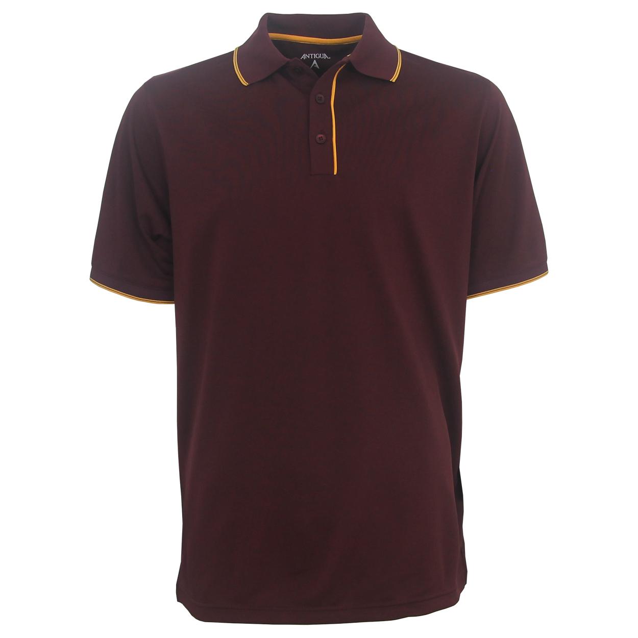 Antigua elite performance polo golf shirt for Polo golf performance shirt