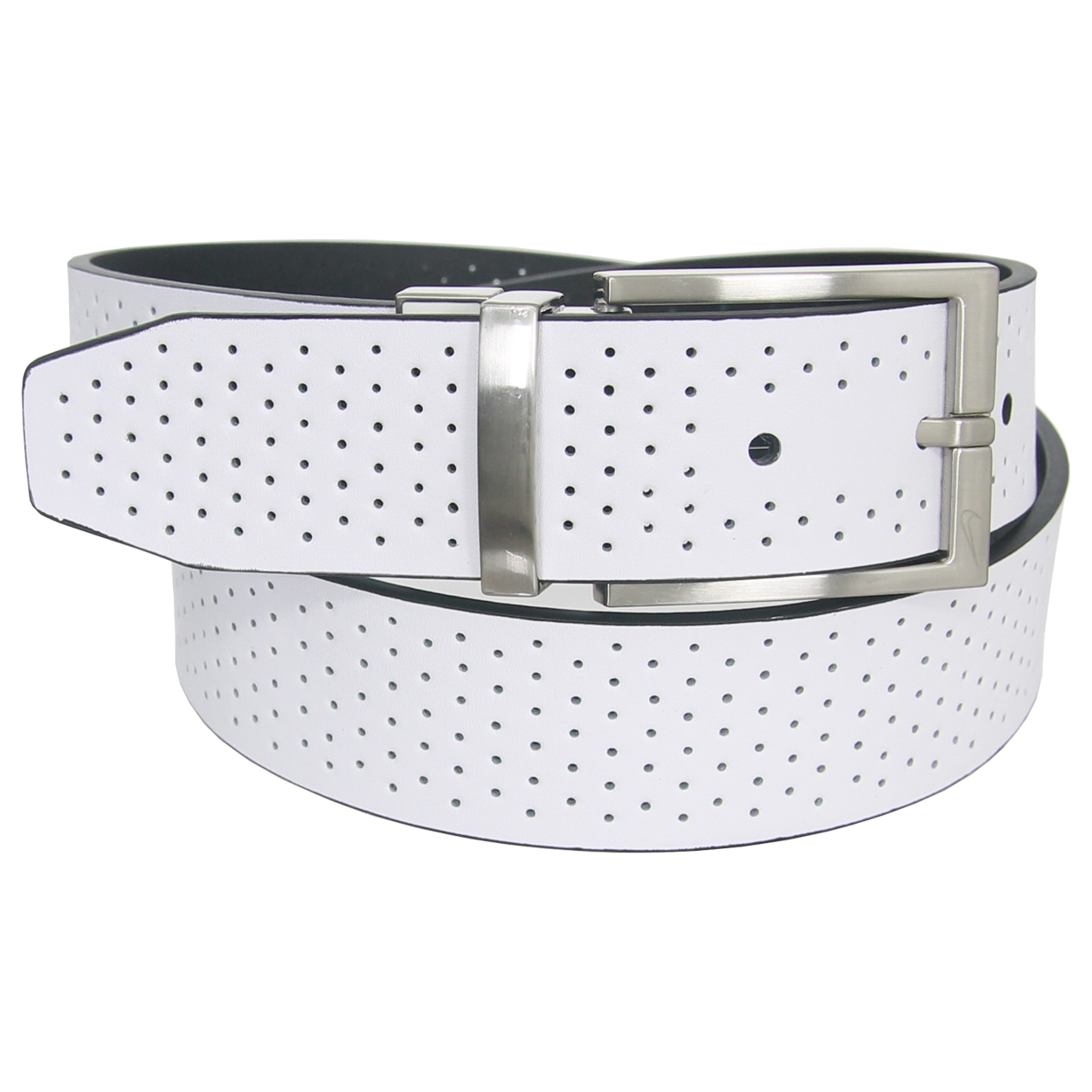 nike golf s reversible perforated leather belt
