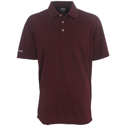 Ping iron sensorcool men 39 s polo shirt for Iron man shirt for men