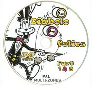 Mr Babache DVD Diabolo Folies Part 1 and Part 2