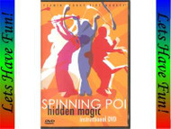 Spinning Poi Hidden Magic instructional DVD