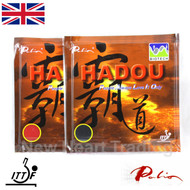2 x Palio Hadou Biotech Table Tennis Bat Rubbers 42-44