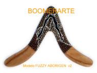 Boomerarte Aborigen Line FUZZY V2 Boomerang Right Handed