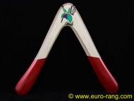 Glover Hummingbird Vee Boomerang Right Handed RED