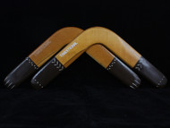 Davro Traditional Wooden Boomerang LEFT HANDED A2 'Slight Second'