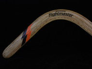 BAKWOOD (Davro) Flightmaster Ash Wood Boomerang LEFT HANDED A2 design L1