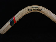 BAKWOOD Flightmaster Ash Wood Boomerang LEFT HANDED A2 design L9