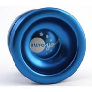 Euro-Yo Spirit advanced trick unresponsive ball bearing aluminum Yo-Yo - blue
