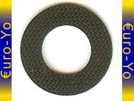 10 Black Kentaro Friction Stickers Small
