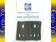 Pack of 10 .030 Thick Dif-Pads