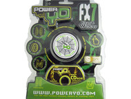 PowerYo FX7 Black Widow Beginners YoYo - Black