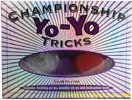 CHAMPIONSHIP YO-YO TRICKS book and yo-yo set