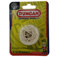 Duncan yo-yo strings WHITE Pack of 5  suitable for all yoyos