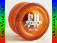 Duncan Freehand Zero Yo-yo GLITTER Orange