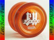 Duncan Freehand Zero Yo-yo GLITTER Orange