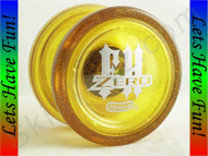 Duncan Freehand Zero Counter-weight Yo-yo GLITTER yellow
