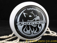 YoyoFactory FireDog Yo-Yo White - new model