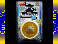 Duncan Hayabusa Soft Landing Yo-yo - orange body, white rims