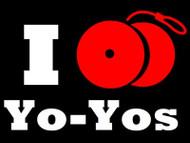 I Yo-Yo T-Shirt Black Medium
