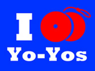 I Yo-Yo T-Shirt Blue Medium