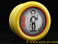 The Modfather Throw Monkey YoYo DOUBLE recess yellow/red