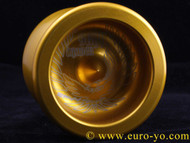 Skyy Chaser yoyo size D bearing Gold