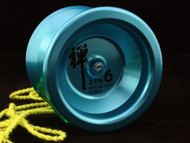 Shinwoo Zen 6 aluminium Yo-Yo Blue
