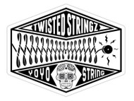 Twisted Stringz Sticker x1