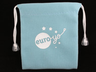 Euro-Yo Blue Pull String Yo-Yo Bag