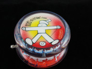 John Higby Hand Painted ProFly Yo-Yo with custom printed pogs DESIGN #2