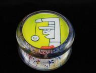 John Higby Hand Painted ProFly Yo-Yo with custom printed pogs DESIGN #3