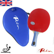 Palio 2 Star Expert Table Tennis Bat with case IMPERFECT